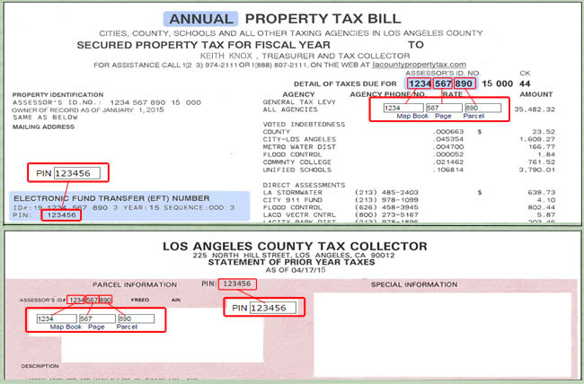 Pay Property Tax Bill Online County Of Los Angeles Papergov